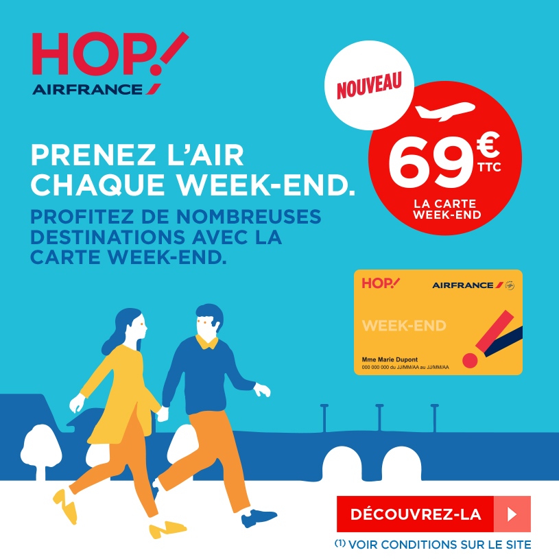 carte weekend air france Carte : Carte Week End Air France